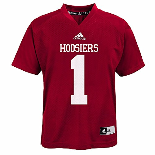 adidas Indiana Hoosiers NCAA Red Official Home #1 Replica Football Jersey for Toddler (3T)