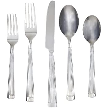 Farberware Chicory Mirror 20-Piece Flatware Set, Service for 4