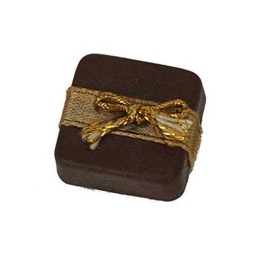 Brosco Dollhouse Miniature Food Square Box Filled with Chocolates Sweets Christmas