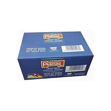 LECHE PASCUAL CAJA DE 150 TARRINAS DE 13,6 ML.: Amazon.es: Hogar