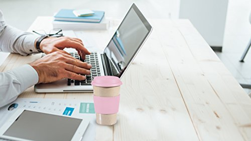 Gevalia Coffee Maker Leaks : 16OZ Reusable To Go PINK Travel Mug Leak proof with Lid & Heat Resistant Non slip Grip. Made ...