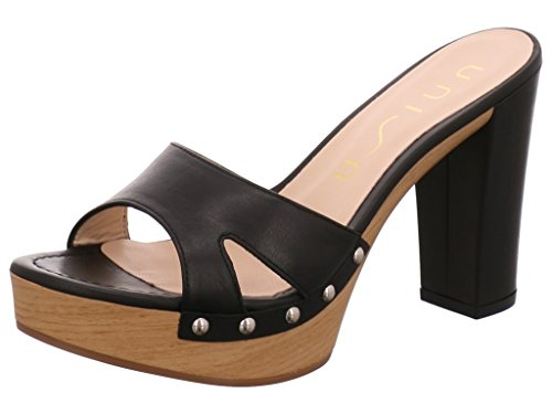 Unisa High Heel Pantolette Black