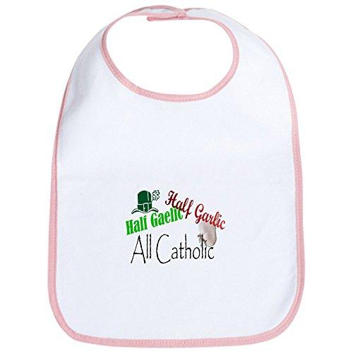 CafePress Half Gaelic Half Garlic All C Bib Cute Cloth Baby Bib, Toddler Bib ()