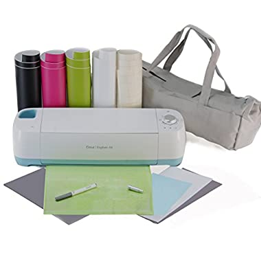 Cricut Explore Air Machine Bundle with Vinyl Sheets & Transfer Paper