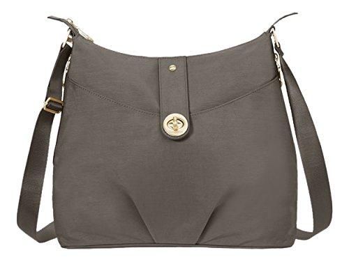 Baggallini Helsinki Bag - Lightweight Shoulder Bag or Crossbody Purse With Adjustable Strap, Multifunctional Pockets and Gold Hardware