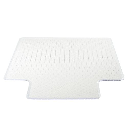 Deflecto Execumat Clear Chair Mat, High Pile Carpet Use, with Lip, Beveled Edge, 45'' x 53'', Clear (CM17233COM) by Deflecto