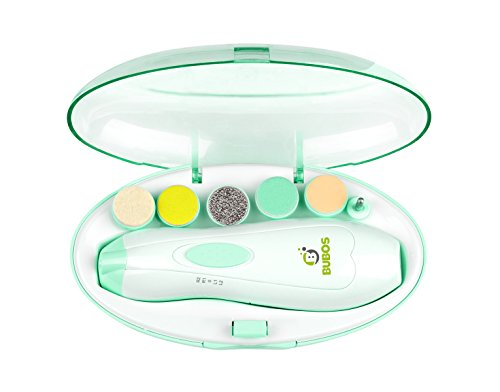 Bubos Baby Nail File Electric Manicure Set - Safe Baby Nail