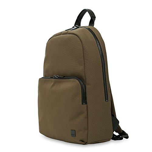 Knomo Luggage Brompton Fabric Hanson 15-inch Backpack, Deep Army Green by Knomo