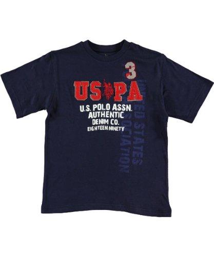 U.S. POLO ASSN. Screen Tee Boys Sizes 8-18