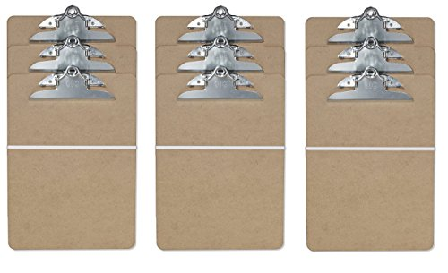 Officemate Clipboard, Letter Size (3 Pack)