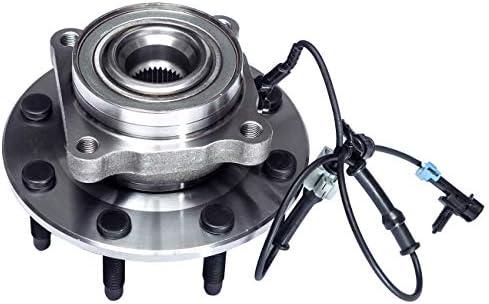8 Stud Hub W//ABS TUCAREST 515098 Front Wheel Bearing and Hub Assembly Compatible With Chevrolet Silverado 2500 HD 3500 HD Suburban 2500 GMC Sierra 2500 3500 HD Yukon XL 2500 Hummer H2