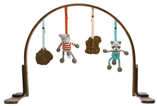 Finn + Emma Handmade Baby Wooden Play Gym, 100% Organic, Eco-Friendly, and Fair Trade, Perfect for Newborns or Toddlers by Finn + Emma