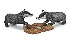 Schleich Badger Cub Toy Figure