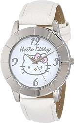Sanrio Hello Kitty Women's HKAQ5367 Watch with White Band