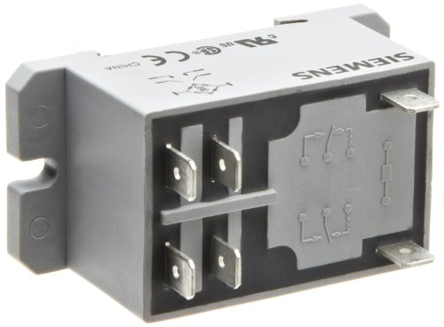 Siemens 3TX7131-4CH13 Basic Plug In Enclosed Power Relay, DPST-NO Contacts, 30A Contact Rating, 230VAC Coil Voltage by Siemens