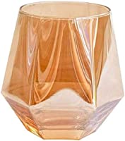 Decantador De Whisky Decantador De Licor Cristal Conjunto De 2 Gafas De Whisky Inquebrantable Gafas De Agua Potable Premium 300ml Perfectamente Ponderado De Cristal Transparente Transparente Para Bebi