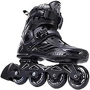 Unisex Professional Inline Skates Black