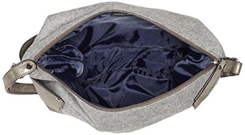 801 Grey Lado 4080003732 Fieltro Gris Mujer light Bolsa Gerry Medio Weber De XvxTnqwP