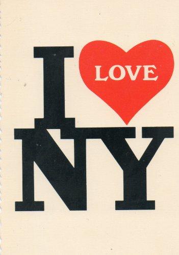 Post Card: I LOVE NY, 52679-D, Manhattan Post Card Pub. Co, Inc., C-206
