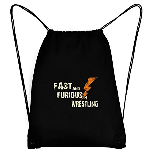 Teeburon FAST AND FURIOUS IN Wrestling Sport Bag by Teeburon