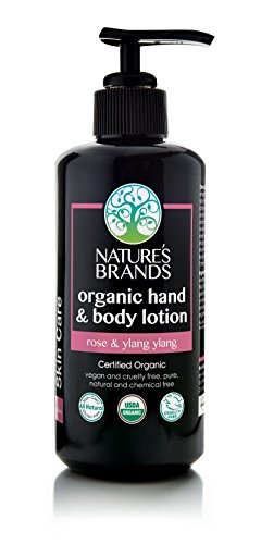 (Herbal Choice Mari Organic Hand & Body Lotion, Rose & Ylang Ylang; 6.8floz)