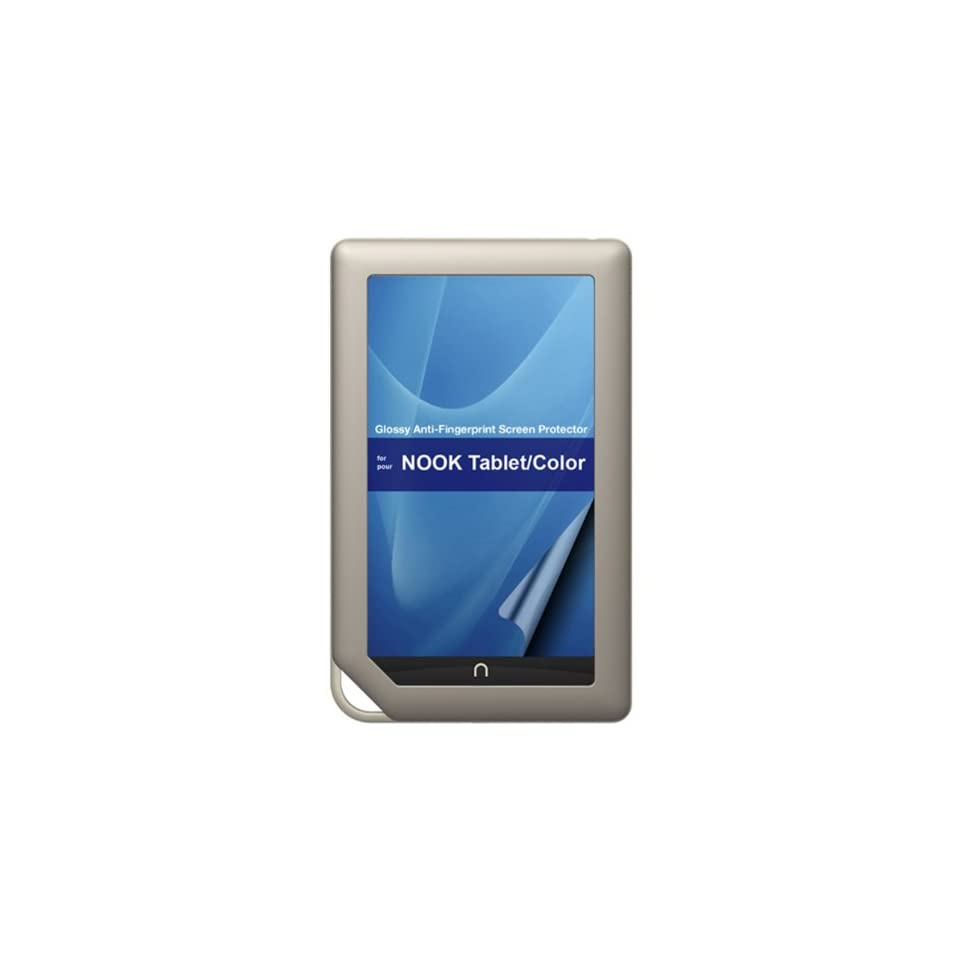 Green Onions Supply Crystal Anti Fingerprint Screen Protector for Nook Tablet & Nook Color