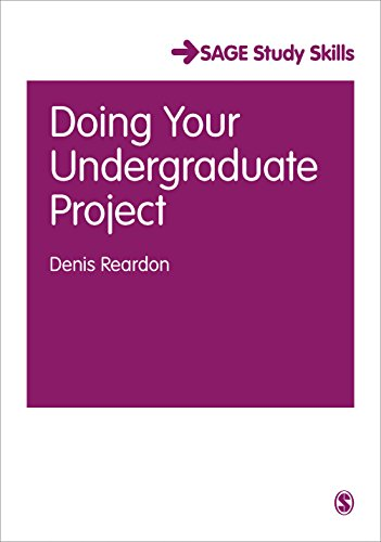 Doing Your Undergraduate Project (SAGE Essential Study Skills Series)