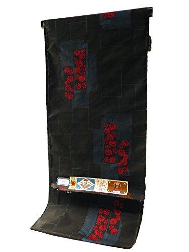 本場 奄美大島 紬 古代染色 純泥染 伝統的工芸品 着物 反物 tu-21