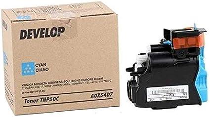 Develop A0X52D7 5000páginas Amarillo tóner y cartucho láser ...