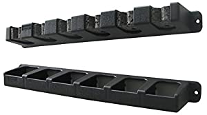 Berkley Vertical Rod Rack, Black