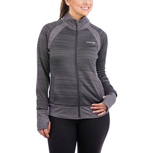 Avalanche Moraine Jacket - Women's Asphalt-Dark Grey Heather, S
