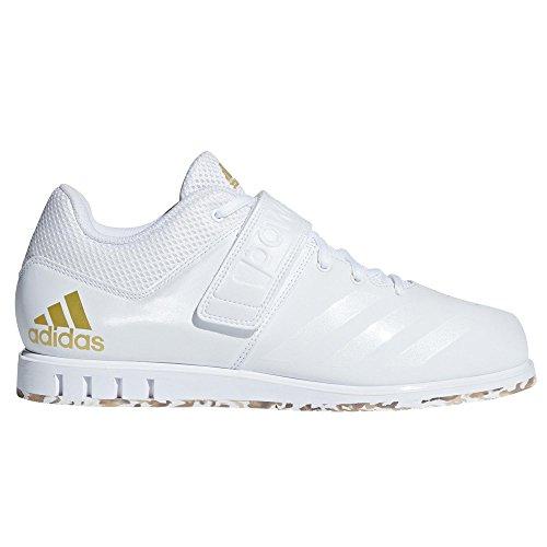 Adidas Blanc Or Wei 001 1 Met Hommes ftwr 3 Sneakers Powerlift rxrOU