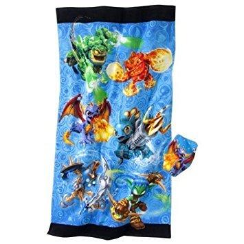 Skylanders Bath Towel and Wash Mitt by Skylanders (Image #1)