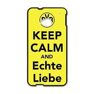 Keep Calm And Echte Liebe Black htc m7 case