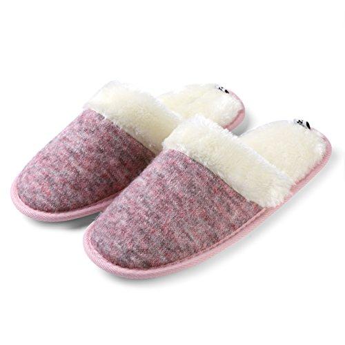 Aerusi Vrouwen Slaapkamer Indoor Comfy Huis Slip-on Slippers Schoeisel Jade Twill Lylic