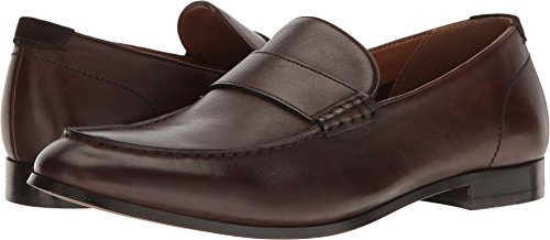 Dark Brown Leather Loafer (Aldo Men's Almanzor Penny Loafer, Dark Brown, 10.5 D US)