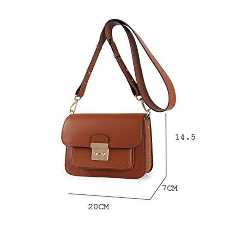petit épaule Sac femmes à Lxf20 carré féminin unique lock Red bandoulière flip Sac Messenger bag rétro sac Oqq0wFnU