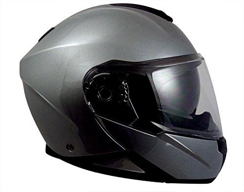 TORX Motorradhelme Neil 2 Gun Metal, grau, Grö ß e XXL MAD 9421GM63