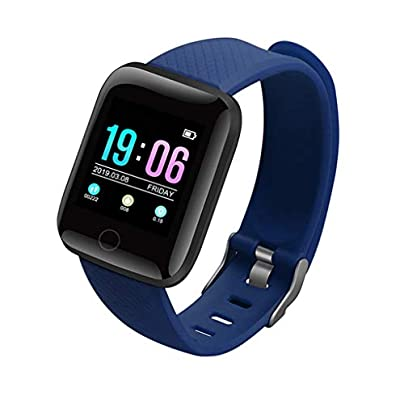 HFXLH Smart Bracelet Men Women Fitness Tracker Heart Rate Monitor Smart Wristband Blood Pressure Pedometer for Android IOS Estimated Price £33.32 -