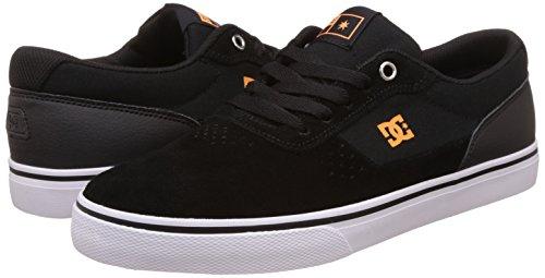 DC Shoes Herren Argosy Vulc Sneakers, Schwarz, 40.5 EU
