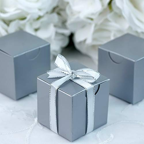 (Mikash 200 2x2x2 Wedding Favors Boxes - Gift Packages Party Supplies Decorations | Model WDDNGDCRTN - 6999 |)