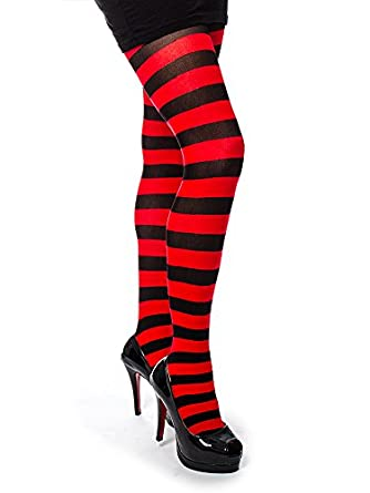01faf02506e34 Pamela Mann Twickers Tights (Black/Red): Amazon.co.uk: Clothing
