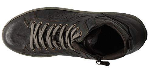 Scarpe in NeroGiardini Sneaker 300 A800490 Marrone Uomo 0490 Mid Sportive Pelle Marrone OXww8qUT