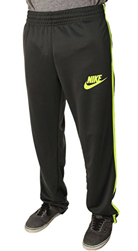 Nike Mens Running Track Pants Futura Gray/Yellow