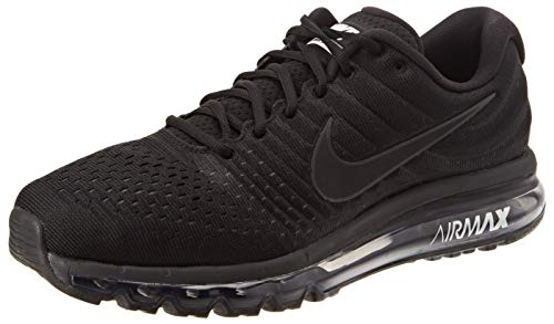 Nike Men's Air Max 2017 Running Shoe Black/Black-Black 11.5 (Nike Running Shoes Man)