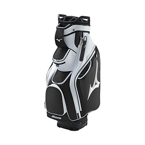 Mizuno Golf Pro Cart Bag Black/White