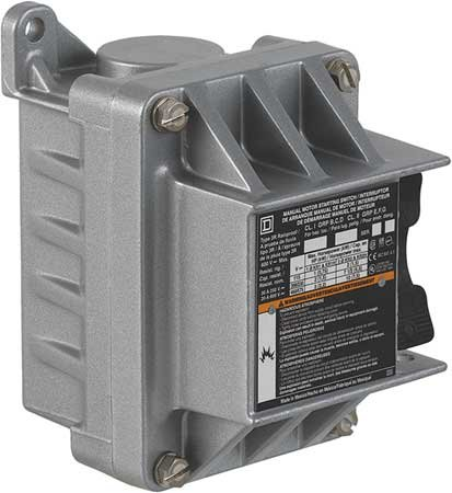 SCHNEIDER ELECTRIC 2510KR2 Manual Switch 600-Vac Kplus Options by Schneider Electric