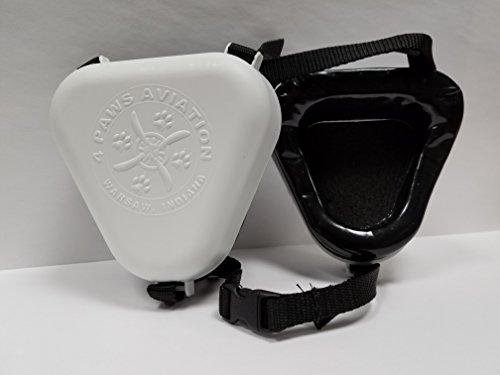 K-9 Ear Muffs (Small, White)