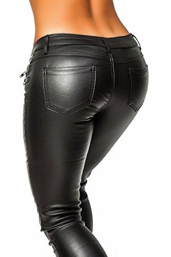Danaest - Pantalón - skinny - Básico - para mujer negro