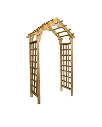 Phat Tommy Outdoor Patio Garden Gable Arbor Your Lawn Backyard Needs, Made in The ()